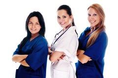 медицинский усмехаться людей Стоковое Изображение