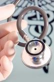 медицинское stethescope Стоковая Фотография