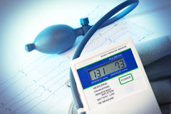 медицинское tonometer Стоковое Изображение