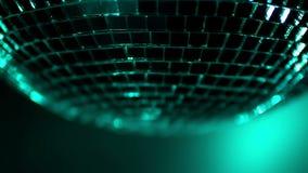 Медленный закручивая шпунтовой шарик диско видеоматериал