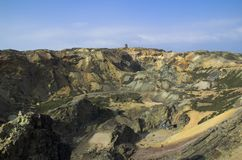 медная шахта Стоковые Фото