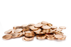 Медные деньги Стоковое Изображение RF