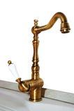 медный faucet Стоковые Изображения RF