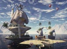 медовый месяц гавани Стоковое Изображение