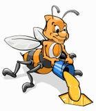 мед ведра пчелы Стоковые Фото