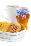 мед завтрака Стоковая Фотография RF