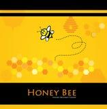 мед пчелы иллюстрация вектора