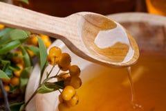 мед ягод пропуская стоковое фото rf
