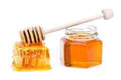 мед dipper Стоковое Фото