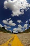 межгосударственная дорога мы Стоковые Изображения RF