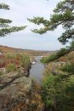 Межгосударственное излишек река в падении Стоковые Фотографии RF