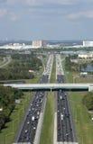 Межгосударственные 4 в Орландо, Флориде Стоковая Фотография RF