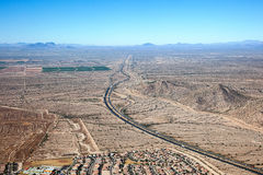 Межгосударственные 10 на трассе 85 положения Стоковая Фотография RF