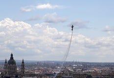 Международная воздухоплавательная выставка полета в Будапеште, Венгрии Стоковые Изображения