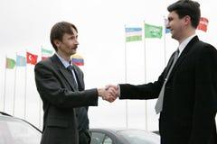 международная встреча стоковое фото