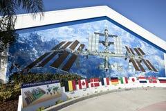 международная космическая станция дисплея Стоковое фото RF
