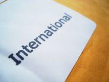 международно Стоковое фото RF