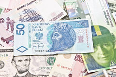 Международные валюты Стоковые Изображения