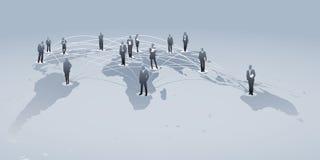 международные сети иллюстрация штока