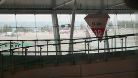 Международный авиапорт Пхукета видеоматериал