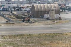 Международный аэропорт Афганистана Кабула в лете 2018 стоковые фото