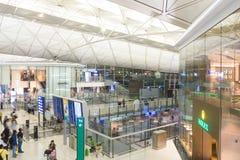 Международный аэропорт Гонконга Стоковые Изображения