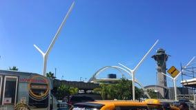Международный аэропорт Лос-Анджелеса сток-видео