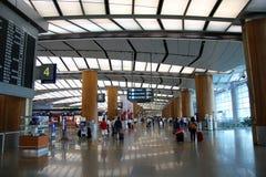 Международный аэропорт Сингапур Changi Стоковое Фото