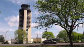 Международный аэропорт Сиракузы Hancock сток-видео