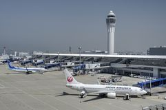 Международный аэропорт Chubu Centrair, Япония Стоковая Фотография RF