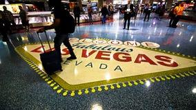 Международный аэропорт LAS McCarran стоковая фотография