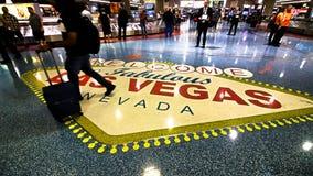 Международный аэропорт LAS McCarran стоковое изображение