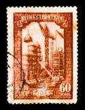 Международный день ` s построителя, около 1956 Стоковое Изображение
