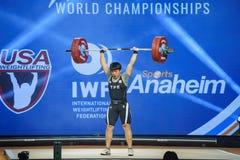 2017 международных чемпионатов мира федерации поднятия тяжестей стоковая фотография
