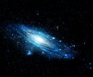 Межзвёздное облако и галактики в космосе Элементы этого изображения поставленные NASA стоковое изображение