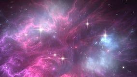 Межзвёздное облако космоса Стоковые Изображения