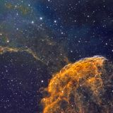 Межзвёздное облако медуз стоковое фото rf
