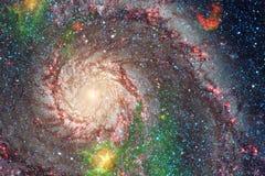 Межзвёздные облака и много звезд в космическом пространстве Элементы этого изображения поставленные NASA стоковое фото rf