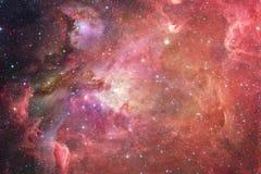 Межзвёздные облака и много звезд в космическом пространстве Элементы этого изображения поставленные NASA стоковая фотография rf