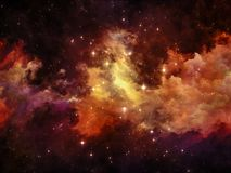 Межзвёздное облако дизайна Стоковые Изображения RF
