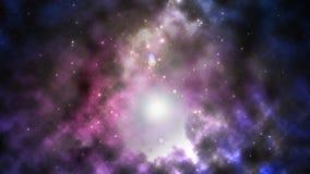 Межзвёздное облако космоса Стоковая Фотография RF