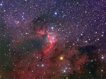 Межзвёздное облако пещеры Стоковое фото RF