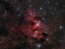 Межзвёздное облако пещеры стоковые фотографии rf