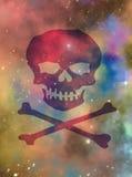 Межзвёздное облако пирата космоса Стоковое Изображение