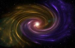 Межзвёздное облако формируя новую звезду в вселенной Стоковая Фотография
