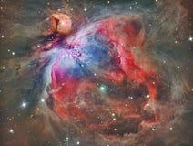 Межзвёздное облако APOD M42 Ориона стоковое фото rf