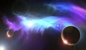 Межзвёздное облако 2 Plame Стоковая Фотография RF