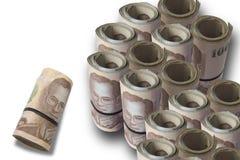 Международная валюта, тайский бат Стоковое Фото