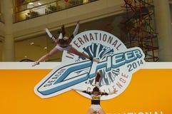 Международная возможность 2014 приветственного восклицания Стоковое фото RF