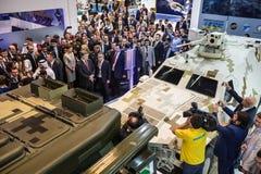 Международная выставка обороны в Абу-Даби Стоковые Изображения